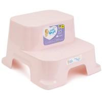 Табурет-подставка Little Angel со ступеньками Розовый
