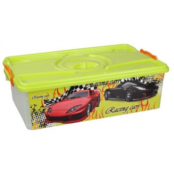 Ящик для игрушек Формула-2 30л