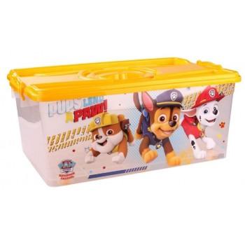 Ящик для игрушек Щенячий патруль 40л