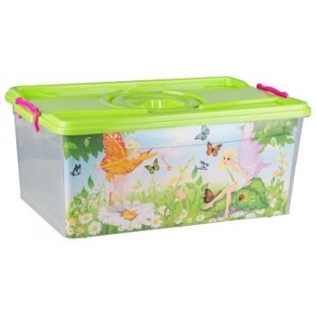 Ящик для игрушек Сказка 40л