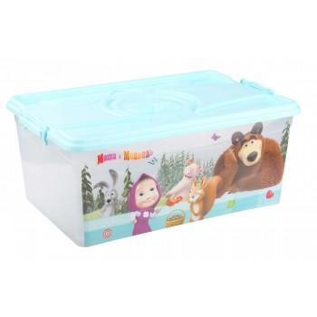 Ящик для игрушек Маша и Медведь 40л