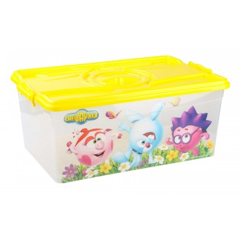 Ящик для игрушек Смешарики 40л