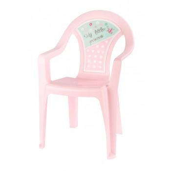 Пластиковый детский стульчик Маленькая принцесса