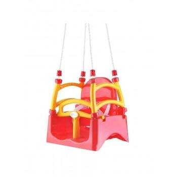 Детские качели подвесные Doloni красные