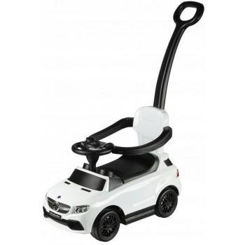 Каталка-толокар с ручкой Chi Lok Bo Mercedes AMG белый
