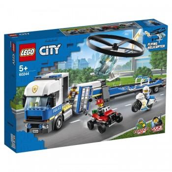 Конструктор Lego City Полицейский вертолетный транспорт 60244