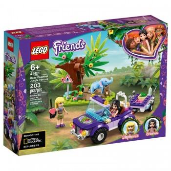 Конструктор Lego Friends Спасение слонёнка 41421
