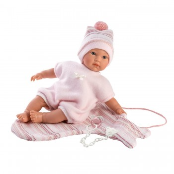 Кукла Llorens Младенец Кука для пеленания 30006, 30 см (озвучена)