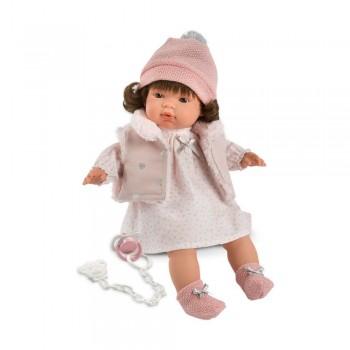 Кукла Llorens Лючия интерактивная 38552, 38 см