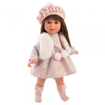 Кукла Llorens Лети в шапочке 54028