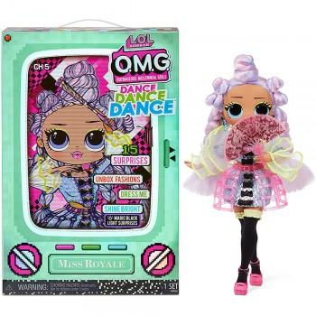 Кукла Lol OMG Dance Dance Dance Мисс Рояль