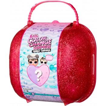 Чемодан Lol Surprise Color Change Bubbly Surprise розовый