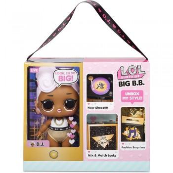 Кукла Lol Big B.B. D.J. Большие малышки, 28 см