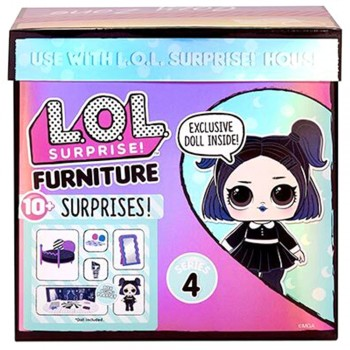Набор Lol Furniture Уютная комната с куклой Dusk  4 серия