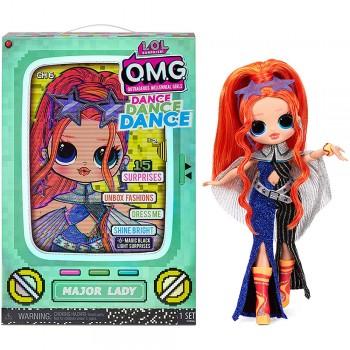Кукла Lol OMG Dance Dance Dance Мэйджор Леди