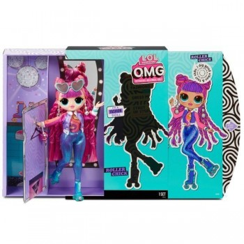 Кукла Lol OMG Roller Chick 3 серия