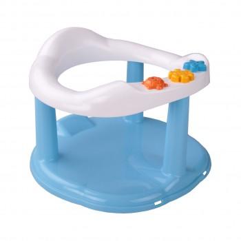 Сиденье для купания на присосках голубое