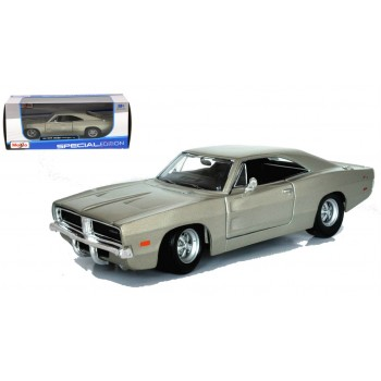 Коллекционная машинка Dodge Charger RT 1969 1:24 Maisto 31256