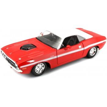 Коллекционная машинка Dodge Challenger R/T Coupe 1970 Maisto 31263