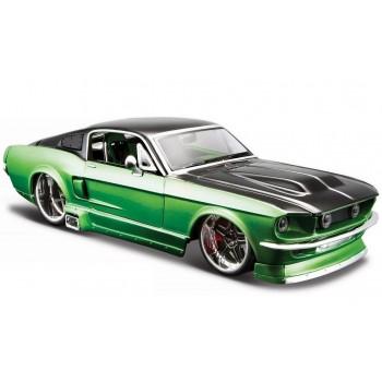 Сборная модель автомобиля Ford Mustang GT 1967 1:24 Maisto 39094