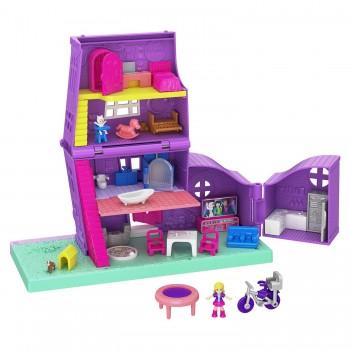 Игрушка Polly Pocket Полливиль Дом Полли GFP42