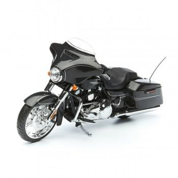 Модель мотоцикла Harley Davidson Street Glide Black 1:12 Maisto 32328