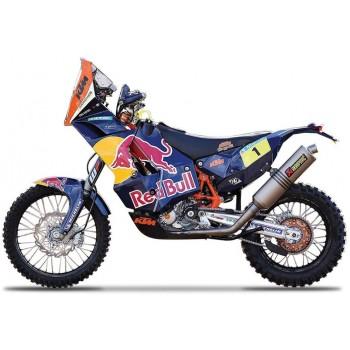 Модель мотоцикла KТМ 450 Red Bull Dakar 1 Bburago 18-51071