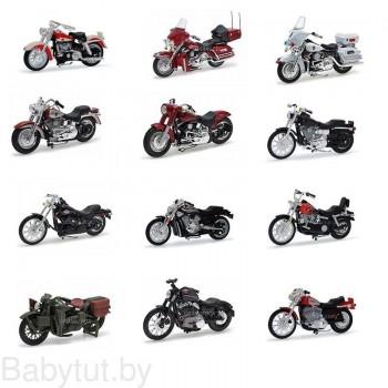 Модель мотоцикла Harley Davidson 1:24 Maisto 35094 (в ассортименте)