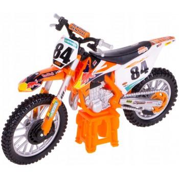 Модель мотоцикла KTM 450 SX-F 1:18 Bburago 18-51081
