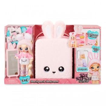 Игровой набор Na Na Na Surprise 3в1 с куклой Обри Харт кролик