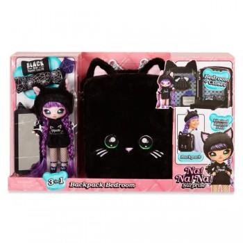 Рюкзак-спальня Na Na Na Backpack Bedroom Black Kitty