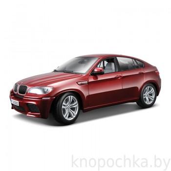 Коллекционная модель BMW Х6 Gold 1:18 Bburago 18-12081
