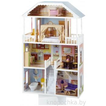 Кукольный домик с мебелью Саванна Kidkraft