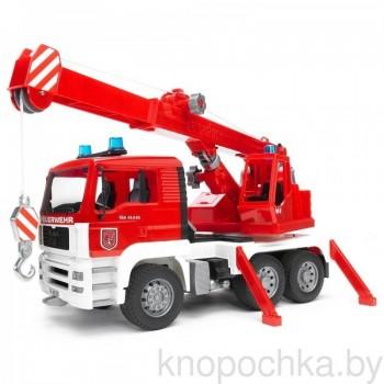 Игрушка Брудер Пожарный автокран Bruder MAN 02770
