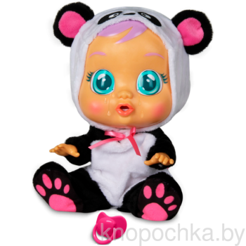 Пупс Cry Babies Плачущий младенец Панди