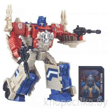 Трансформеры: Generations Optimus Prime 3-in-1 Hasbro B6461
