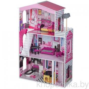 Кукольный домик с лифтом Miami Eco Toys