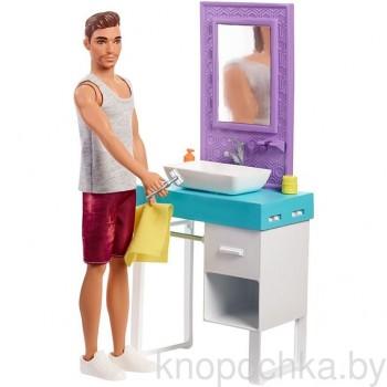 Кукла Barbie Кен в ванной FYK53