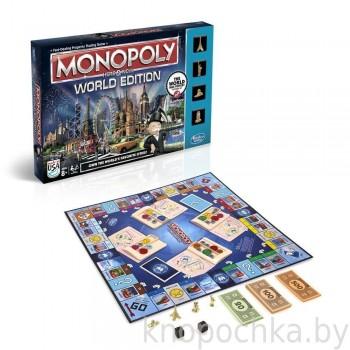 Настольная игра Всемирная Монополия Hasbro