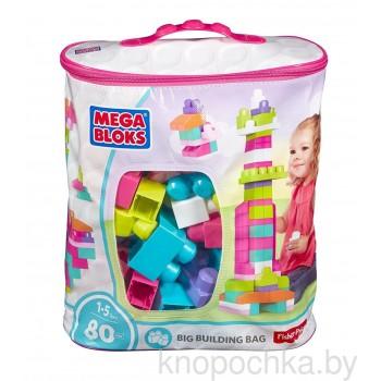 Конструктор Mega Bloks 80 деталей розовый