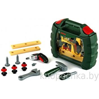 Набор инструментов Bosch с винтовертом Ixolino