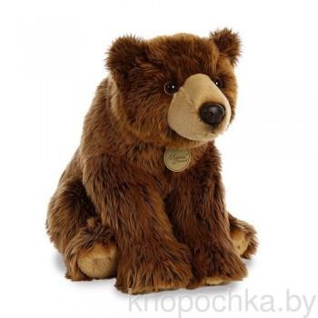 Мягкая игрушка Aurora Медведь Гризли, 38 см