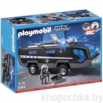 Полиция Машина специального назначения со светом и звуком Playmobil 5564