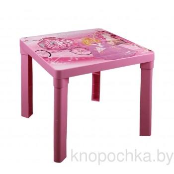 Пластиковый детский столик Принцесса