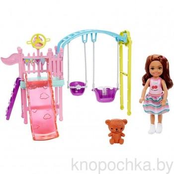 Набор кукла Челси и Парк развлечений Барби FXG84