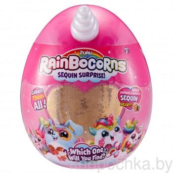 Игрушка плюш-сюрприз RainBocoRns в яйце (серия А)