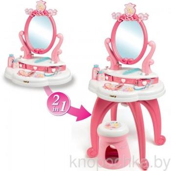 Туалетный столик для девочек 2 в 1 Disney Princess Smoby 320222