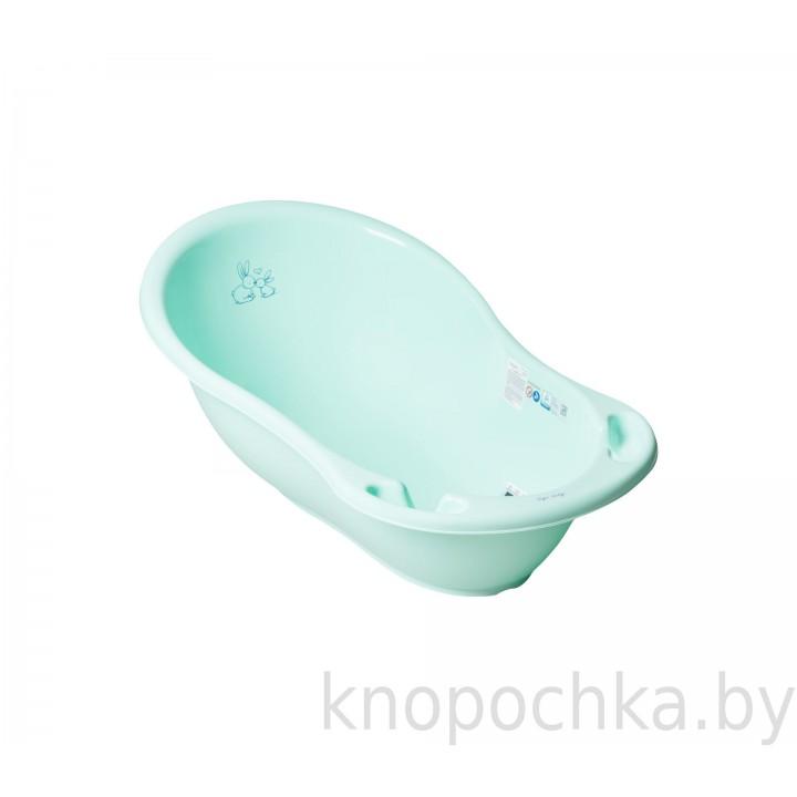 Ванночка со сливом TEGA Зайчики 86 см