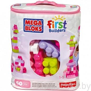 Конструктор Mega Bloks 60 деталей розовый