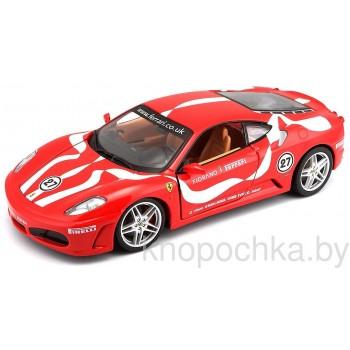 Коллекционная машинка Ferrari F430 Fiorano Bburago 1:24